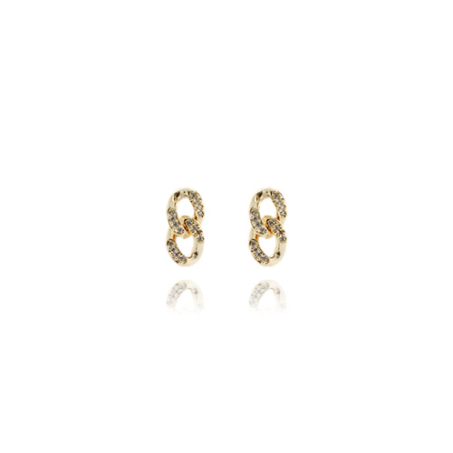 Chain Drop Earrings-S