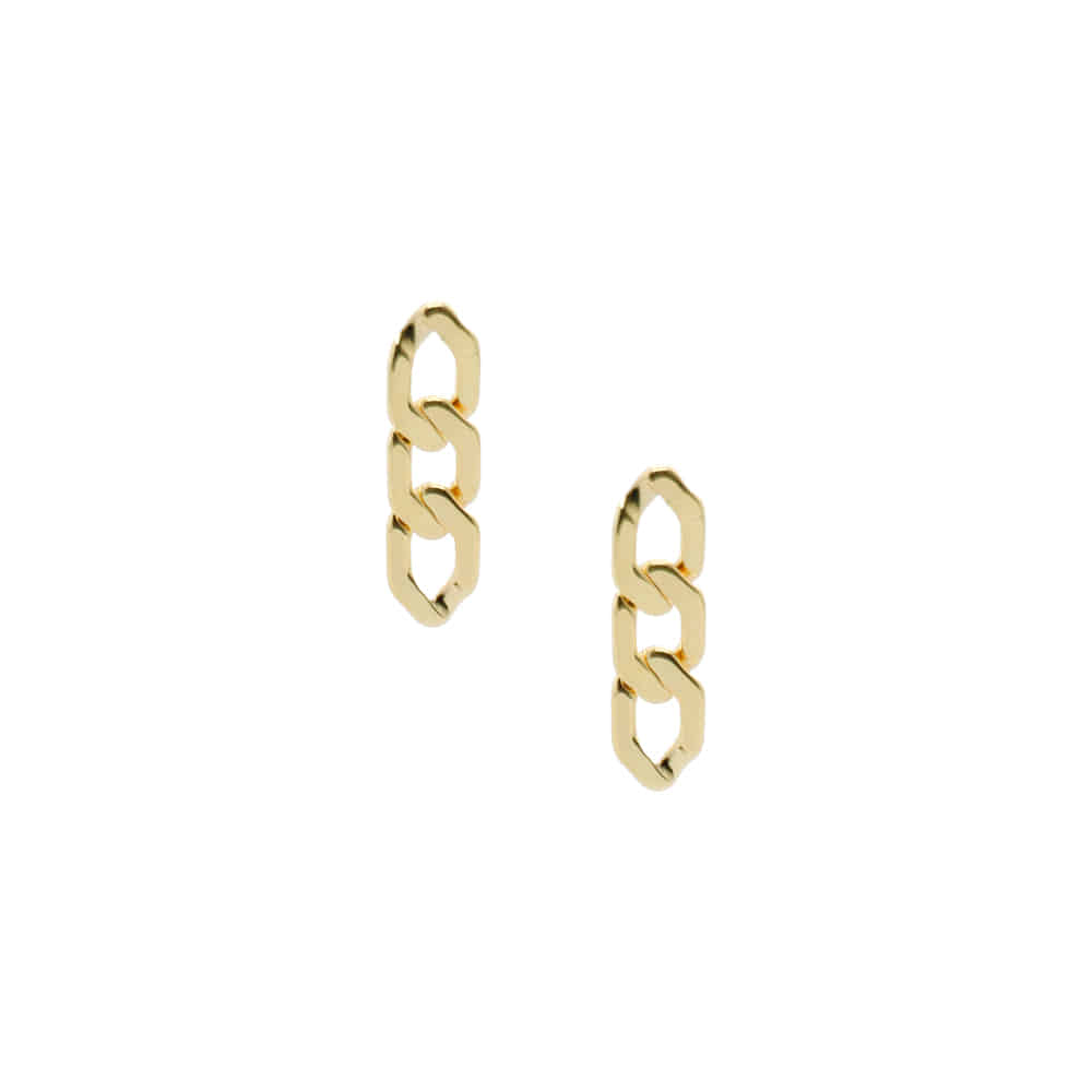 Flat Chain Earrings