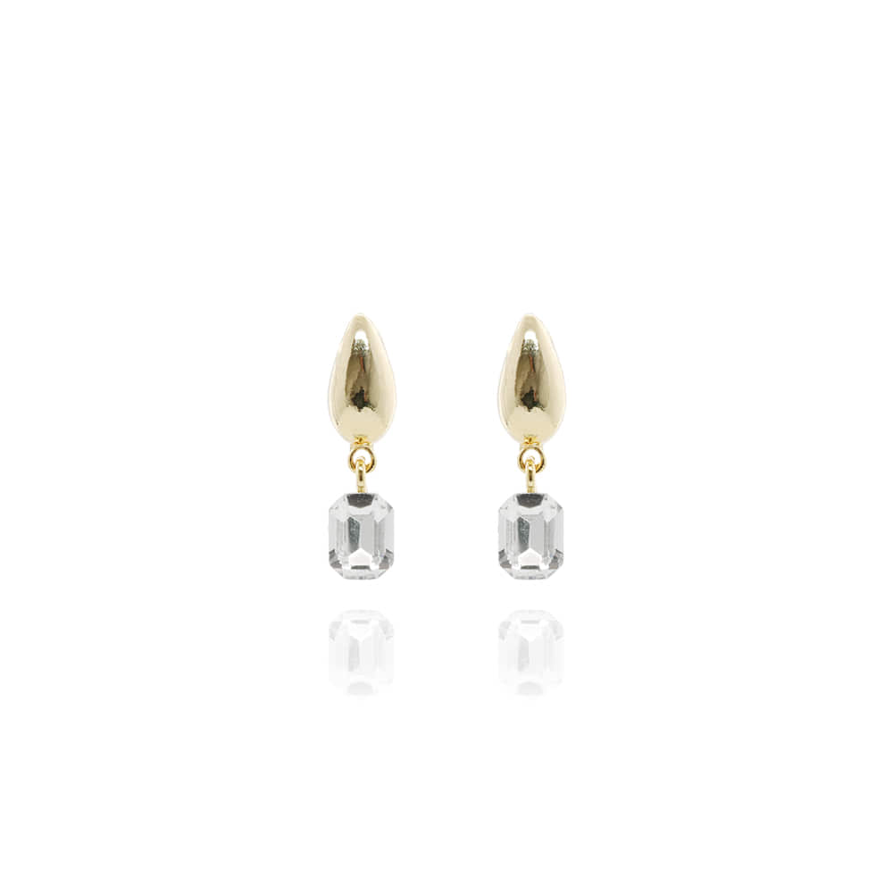 Mini Drop Shaped Earrings-S